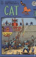 Adventures of Fat Freddy's Cat (1977-1992 Rip Off Press) #3, 5th Printing