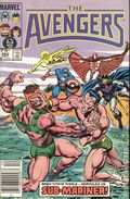 Avengers (1963 1st Series) Canadian Price Variant 262