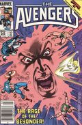 Avengers (1963 1st Series) Canadian Price Variant 265
