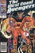 Avengers West Coast (1985) Canadian Price Variant 9