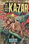 Ka-Zar (1974) UK Edition 5UK
