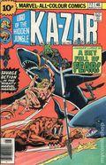 Ka-Zar (1974) UK Edition 17UK