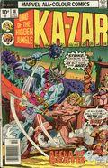 Ka-Zar (1974) UK Edition 18UK
