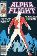 Alpha Flight (1983 1st Series) Canadian Price Variant 11