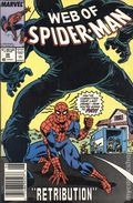 Web of Spider-Man (1985 1st Series) Mark Jewelers 39MJ