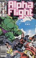Alpha Flight (1983 1st Series) Canadian Price Variant 29
