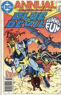 Blue Devil (1985) Annual Canadian Price Variant 1