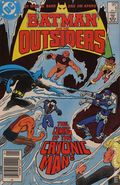 Batman and the Outsiders (1983 1st Series) Canadian Price Variant 6