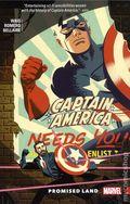 Captain America Promised Land TPB (2018 Marvel) 1-1ST