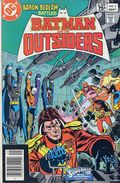Batman and the Outsiders (1983 1st Series) Canadian Price Variant 2