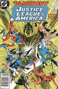 Justice League of America (1960 1st Series) Canadian Price Variant 254