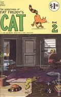 Adventures of Fat Freddy's Cat (1977-1992 Rip Off Press) #2, 4th Printing