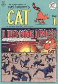 Adventures of Fat Freddy's Cat (1977-1992 Rip Off Press) #1, 8th Printing