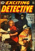 Exciting Detective (1940-1943 Better Publications) Pulp Vol. 1 #1