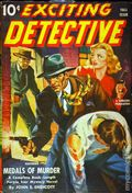 Exciting Detective (1940-1943 Better Publications) Pulp Vol. 3 #2