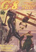 G-8 and His Battle Aces (1933-1944 Popular Publications) Pulp Vol. 15 #1