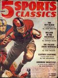 5 Sports Classics Magazine (1950-1951 Better Publications) Pulp Vol. 14 #1