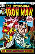Iron Man (1968 1st Series) Mark Jewelers 54MJ