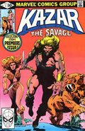 Ka-Zar the Savage (1981 Marvel) 1