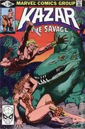 Ka-Zar the Savage (1981 Marvel) 4