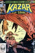 Ka-Zar the Savage (1981 Marvel) 6