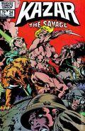 Ka-Zar the Savage (1981) 24