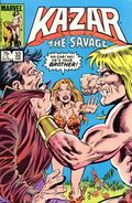 Ka-Zar the Savage (1981 Marvel) 32