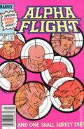 Alpha Flight (1983 1st Series) Canadian Price Variant 12