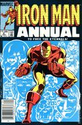 Iron Man (1968 1st Series) Annual Canadian Price Variant 6