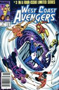 West Coast Avengers (1984 Limited Series) Canadian Price Variant 3