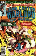 John Carter Warlord of Mars (1977 Marvel) 25