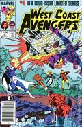 West Coast Avengers (1984 Limited Series) Canadian Price Variant 4