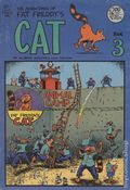 Adventures of Fat Freddy's Cat (1977-1992 Rip Off Press) #3, 3rd Printing