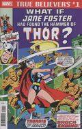 True Believers What If Jane Foster Found Hammer Of Thor (2018) 1