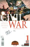 Civil War (2015 Marvel) Secret Wars 1A.DF.SIGNED