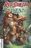 Red Sonja Tarzan (2018 Dynamite) 5B