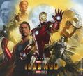 Art of Iron Man HC (2018 Titan Comics) Marvel Studios: The First Ten Years 1-1ST