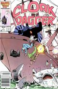 Cloak and Dagger (1985 Marvel 2nd Series) Canadian Price Variant 7