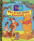 Pooh: The Great Riddle Contest HC (2000 Golden Books) A Little Golden Book 1-1ST
