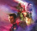 Marvel Studios Avengers Infinity War Art of the Movie HC (2018 Marvel) 1-1ST