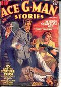 Ace G-Man Stories (1936-1943 Popular Publications) Pulp Vol. 6 #1
