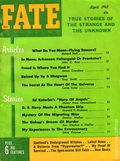 Fate Magazine (1948-Present Clark Publishing) Digest/Magazine Vol. 15 #4