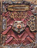 Dungeons and Dragons Monster Manual HC (2000 WotC) Core Rulebook III 1-1ST