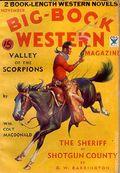 Big Book Western Magazine (1933-1954 Two-Books/Popular) Big-Book Western Pulp Vol. 1 #9