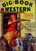 Big Book Western Magazine (1933-1954 Two-Books/Popular) Big-Book Western Pulp Vol. 3 #1