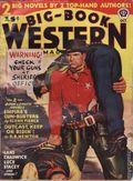 Big Book Western Magazine (1933-1954 Two-Books/Popular) Big-Book Western Pulp Vol. 16 #1