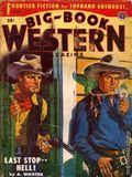 Big Book Western Magazine (1933-1954 Two-Books/Popular) Big-Book Western Pulp Vol. 34 #1
