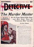 Detective (1933-1934 Delo Publications) Pulp Vol. 1 #1