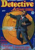 Detective Action Stories (1930-1937 Popular Publications) Pulp Vol. 4 #4