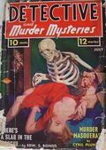 Detective and Murder Mysteries (1939 Ribbon Magazines) Pulp 2nd Series Vol. 1 #2